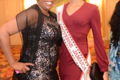 Dr. Sherry and Miss Jamaica - GALA